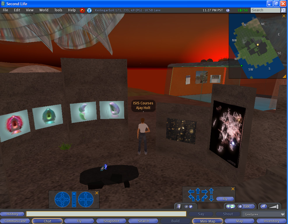 UCSB Second Life space